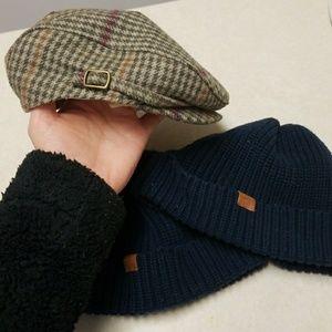 Janie and Jack boys hat bundle.#3 items